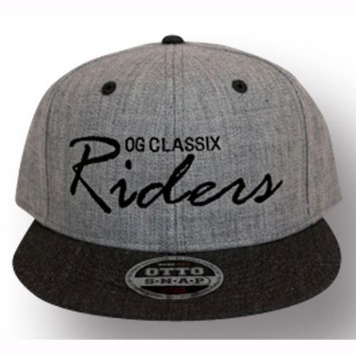 【OG CLASSIX/オージークラシックス】OG RIDERS SNAP BACK CAP(2)【スナップバックキャップ】