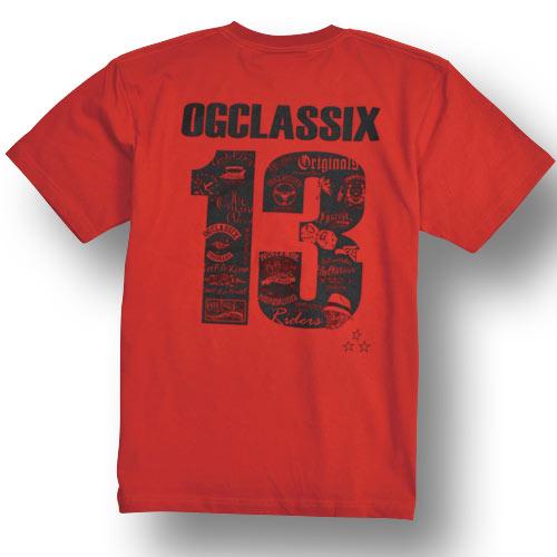 【KIDS】【OG CLASSIX/オージークラシックス】13 ANNIVERSARY KIDS TEE【キッズ】