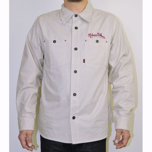 【OG CLASSIX/オージークラシックス】CHAMBRAY TWILL SHIRTS【長袖ボタンシャツ】【シャンブレーシャツ】