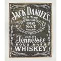 【IMPORT GOODS】JACK DANIELS PLATE 看板,プレート
