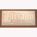 【メール便可】【Luciano Garage Market】LGM OLD-E STICKER(XL)【ステッカー】
