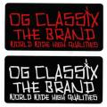 【OG CLASSIX】オージークラシックス FREE HAND STICKER  ステッカー
