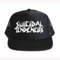【SUICIDAL TENDENCIES】スイサイダルテンデンシーズ STONE FISH MESH CAP メッシュキャップ