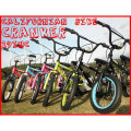 【CALIFORNIAN BIKE】KID'S FIELDER(14inch)【ビーチクルーザー】【全6カラー】