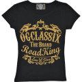 【OG CLASSIX/オージークラシックス】ROAD KING LADY TEE【レディース】【半袖Tシャツ】【メタリック】
