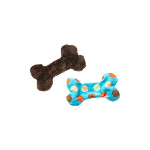 【WEST PAW design ウエストパウデザイン】MiniFloppy Bone - Unstuffed Dog Toy(フロッピーボーン)