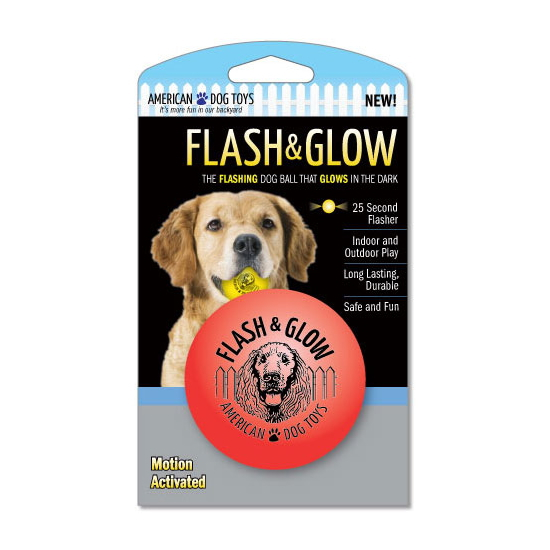 【AmericanDogToys】Flash & Glow Ball(フラッシュ&グロウ・ボール)