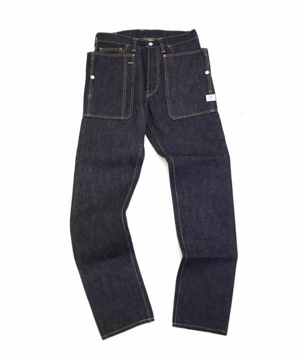 Sassafras/ササフラス Fall Leaf R Spray Pants - 14oz Denim