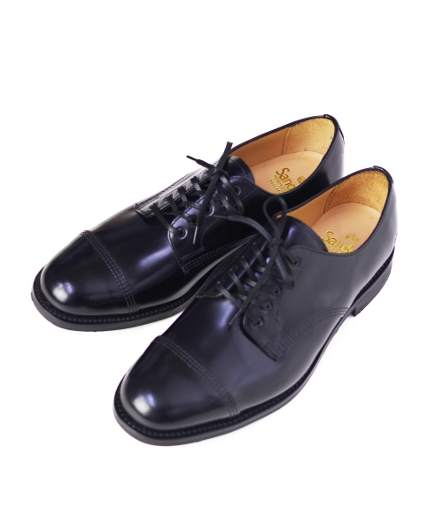 SANDERS/サンダース Military Derby Shoe - Polished Leather
