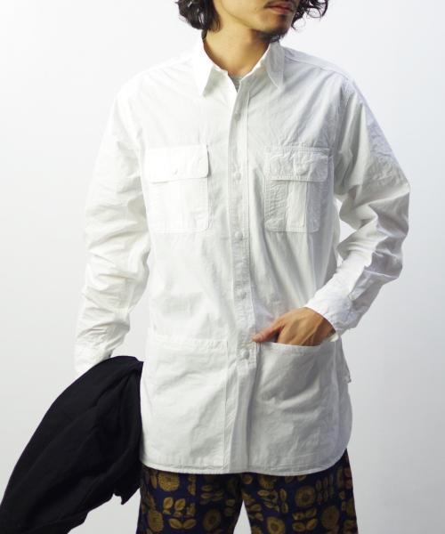 Sassafras/ササフラス Botanical Scout Apron Shirt
