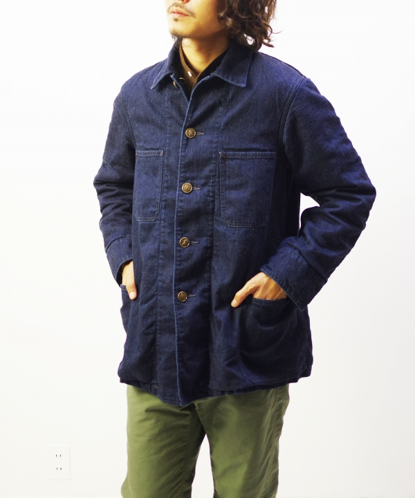 NEEDLES/ニードルズ Chore Coat - C/L 8.5oz Denim