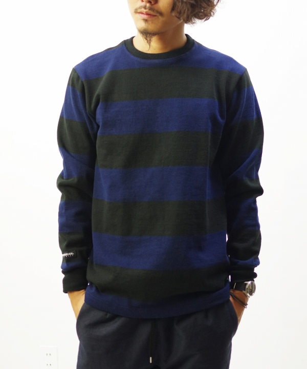 BARBARIAN/バーバリアン CREW NECK LONG SLEEVE - MAPS SPECIAL