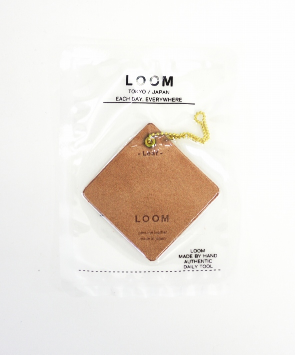 LOOM/ルーム FRAGRANCE LEATHER TAG (全9種)