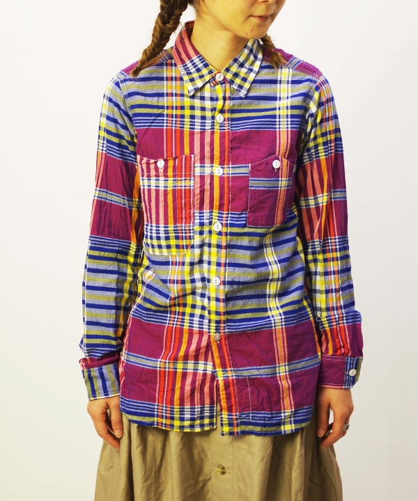 FWK Engineered Garments / エフダブリューケー バイ エンジニアド ガーメンツ Work Shirt - Big Plaid