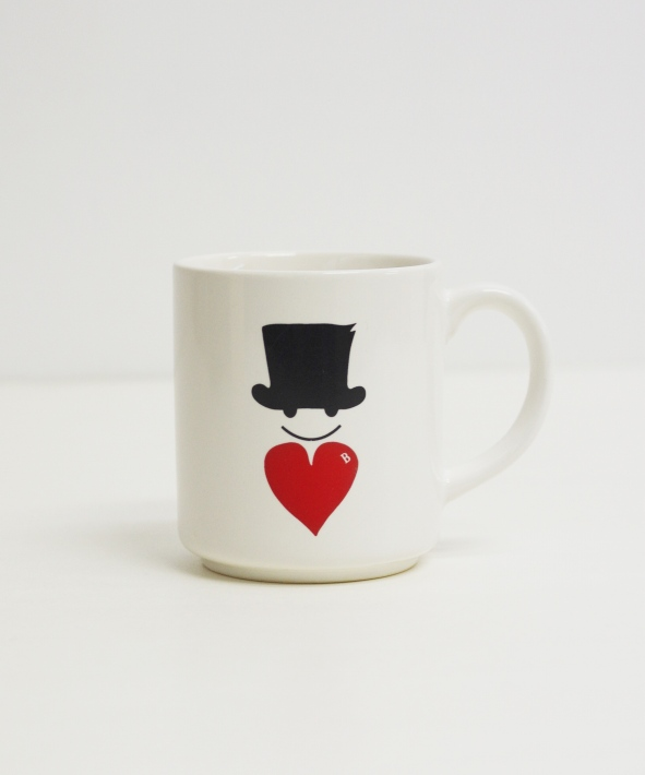 Bohemians/ボヘミアンズ MEDIUM MAG CUP - LOVE & HAT