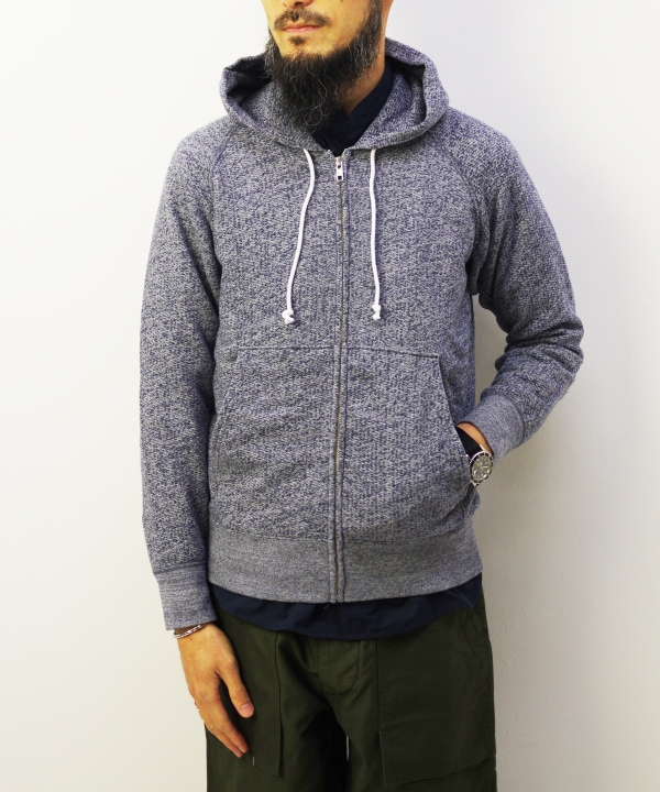 Good On/グッドオン RAGLAN ZIP HOOD SWEAT(全2色)