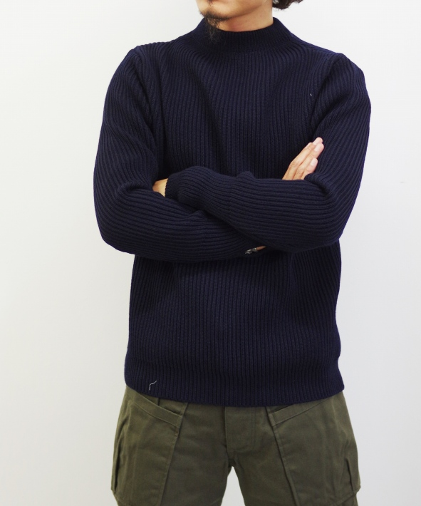 ANDERSEN ANDERSEN/アンデルセンアンデルセン THE NAVY - CREW NECK [MERINO WOOL] (全2色)