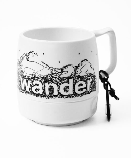 and wander/アンドワンダー and wander DINEX