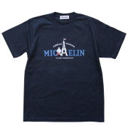 T−Shirts/Eiffel/Navy(05)/Michelin