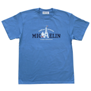 T−Shirts/Eiffel/Blue(38)/Michelin