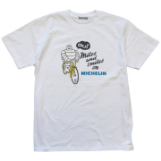 T−Shirts/Velo/White(01)/Michelin