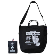 Packable 2way tote/Black/Michelin(232718)