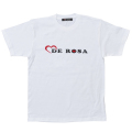 T−Shirts/DE ROSA/Logo/White