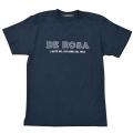 T−Shirts/DE ROSA/Classic Logo/Navy