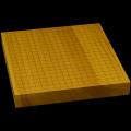 本榧卓上碁盤 1寸9分(一枚板・追柾) gb10066