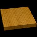 本榧卓上碁盤 1寸9分(一枚板・天柾) gb10087