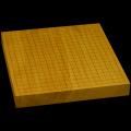 本榧卓上碁盤 1寸8分(一枚板・天柾) gb10091
