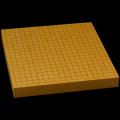 本榧卓上碁盤 1寸6分(一枚板・天地柾) gb10097