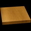 本榧卓上碁盤 1寸7分(一枚板・木裏) gb10101
