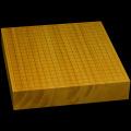 本榧卓上碁盤 2寸7分(一枚板・天柾) gb20194