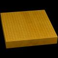 本榧卓上碁盤 2寸2分(一枚板・天柾) gb20208