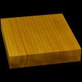 本榧卓上碁盤 2寸8分(一枚板・天地柾) gb20212