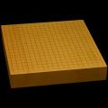 本榧卓上碁盤 2寸3分(一枚板・天地柾) gb20213