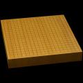 本榧卓上碁盤 2寸1分(一枚板・天地柾) gb20214