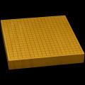 本榧卓上碁盤 2寸(ハギ盤) gt20038