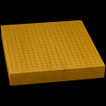本榧卓上碁盤 2寸1分(天元2枚ハギ盤) gt20040