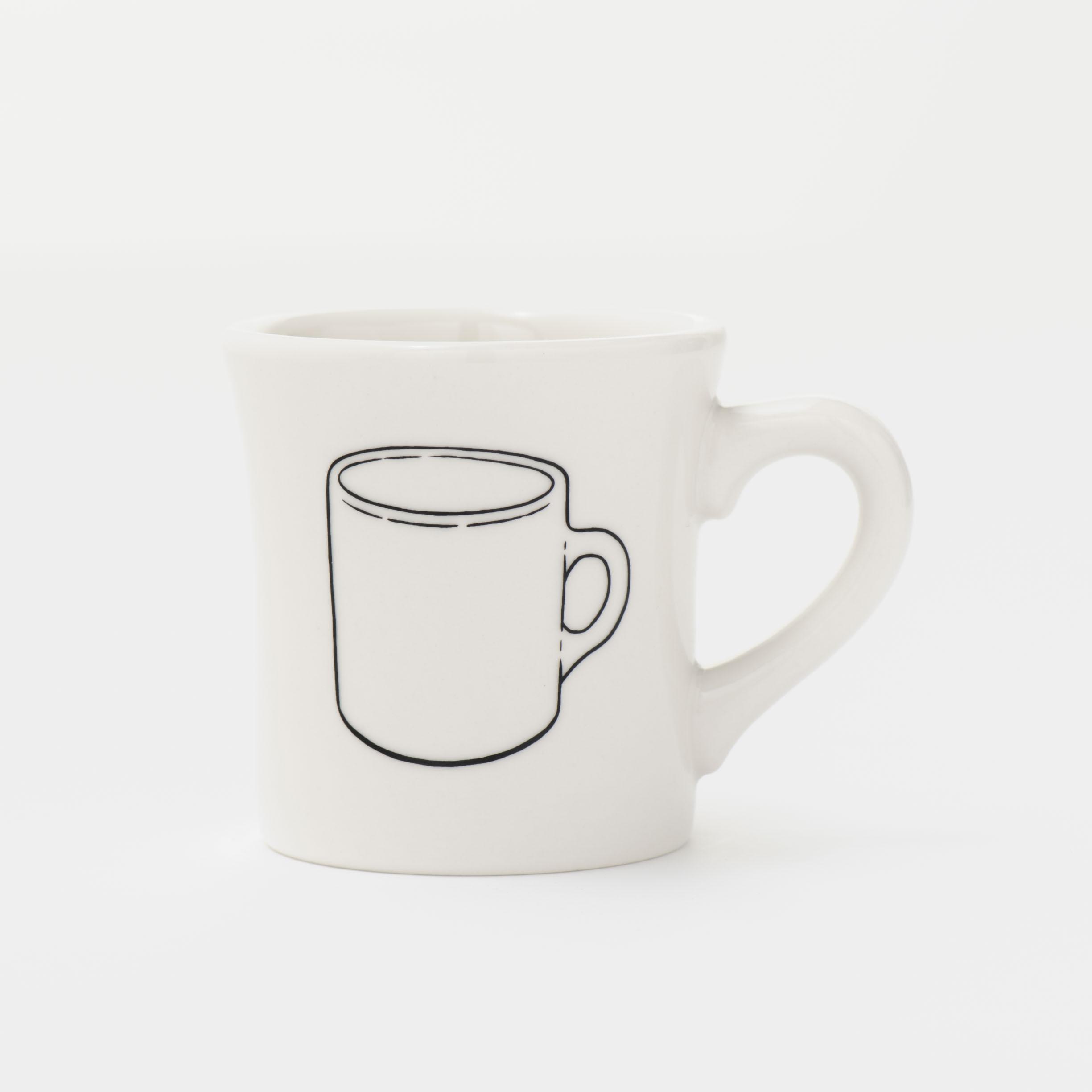BRUTUS マグカップ01