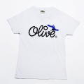 Olive Tシャツ 柄B