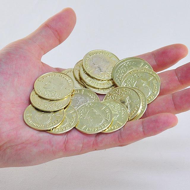 O6905 パーミング フーディニーコイン(金)