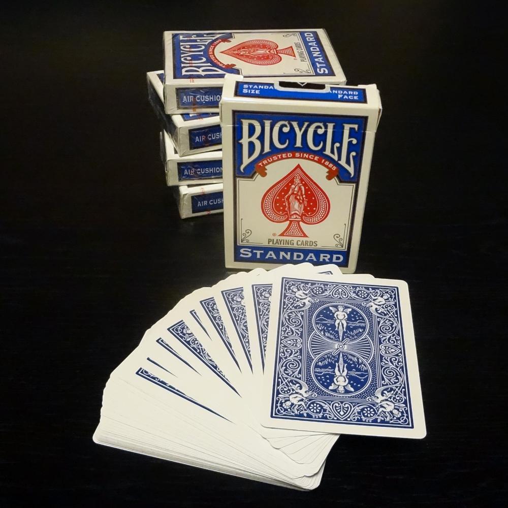 バイシクル・ライダー・バック (Bicycle Rider Back) 〔ブルー〕