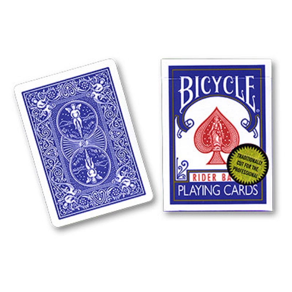 バイシクル・ライダー・バック (Bicycle Rider Back)〔ブルー, ゴールド・スタンダード〕