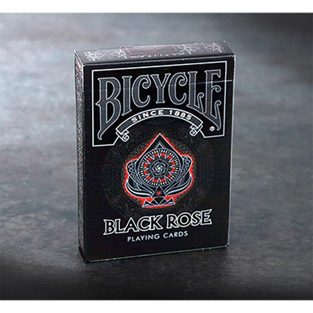 バイシクル・ブラック・ローズ・デック (Bicycle Black Rose Deck)