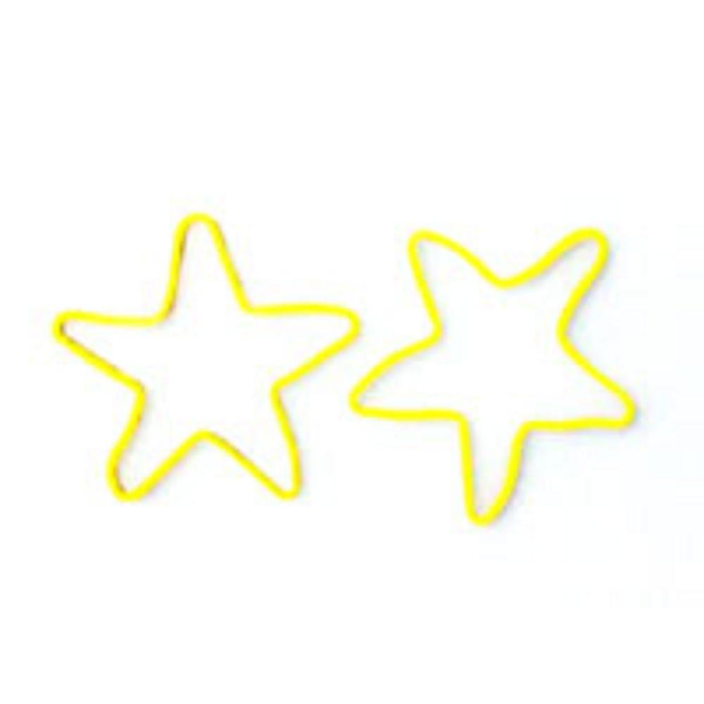 星型の輪ゴム