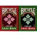 バイシクル・リーフ・バック・ホリデー・デックス (Bicycle Leaf Back Holiday Decks)