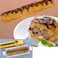 フレック) フリーカットケーキ シュークリーム(チョコ) 【冷凍】400g