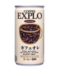 ウエシマ)EXPLO カフェオレ 190g*30缶